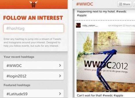 HashtagApp, infografías en Instagram y Twitter a través de un hashtag [iOS]   Instagram   Scoop.it