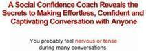 """How To Gain Confidence   How """"Social Confidence Secrets"""" Helps People Improve Confidence – Vkool.com   health   Scoop.it"""