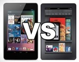 Comparaison vidéo tablette Kindle Fire vs Nexus 7   Kindle Fire France - Communauté Kindle Fire   Kindle Fire France.Fr -  La communauté Kindle Fire   Scoop.it