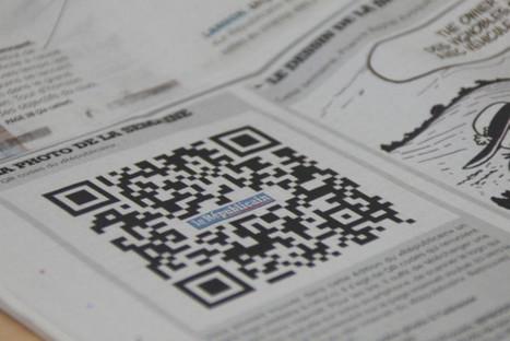 Les QR Codes font leur apparition dans Le Républicain « Article ... | Avis clients sur tablettes | Scoop.it