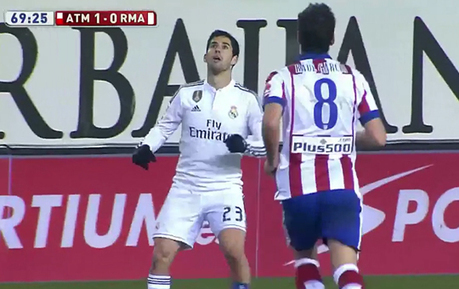 Isco Produces A Wonderful Flick Pass Against Atletico Madrid | The Football Vault | Scoop.it