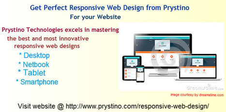 Get Perfect Responsive Web Design from Prystino | Clone Script | Scoop.it
