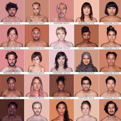 Valencia expondrá un inventario de colores de piel humana en el ... - Las Provincias | Piel | Scoop.it