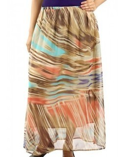 Women's Long Skirt - Multicoloured | EdayGarments- Buy Dresses, skirts, tops, Tunics | Scoop.it