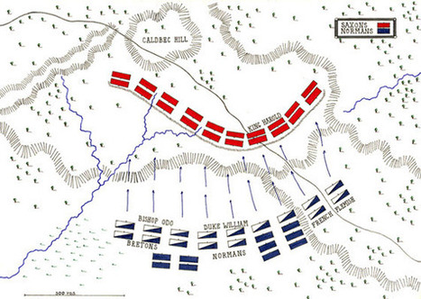 Battle of Hastings - The Norman Conquest | Middle Ages Project | Scoop.it