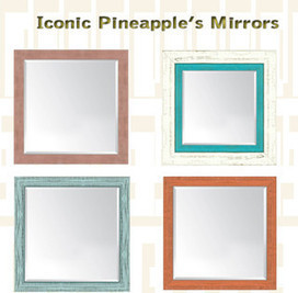 Reseller Mirrors Wall Décor Frames by Iconic Pineapple | Iconic Pineapple - Reseller of Mirrors, Traditional Prints, Giclee Art Prints, Big Fish, New Century Picture, Picture It | Scoop.it