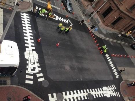 Baltimore installs artistic crosswalks » CONTEMPORIST | This is art | Scoop.it