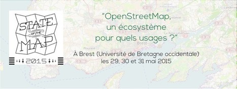 State of the Map France 2015 — OpenStreetMap à Brest | Cartographie collaborative | Scoop.it