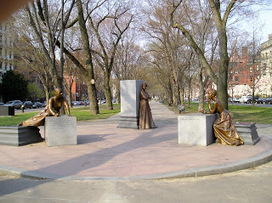 Boston Bronze and Stone Speak To Us: Celebrating Woman's Month Boston Women's Monument 9 Years Old | Boston Women | Scoop.it