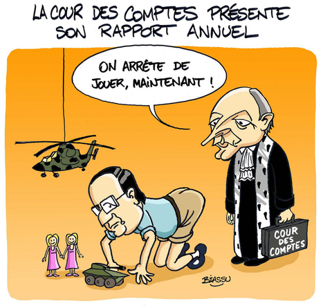 Biassu : Hollande et la Cour des Comptes | Photos de LYonenFrance | LYFtv - Lyon | Scoop.it