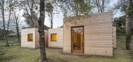 6 prefab boxes make a passive house| Alventosa Morell Arquitectes | Architecture Passive et Positive | Scoop.it