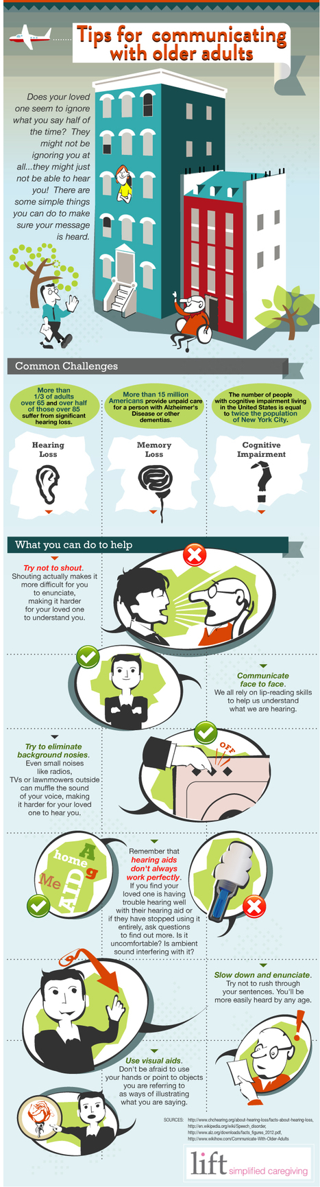 Tips for Communicating with Older Adults   The Best Infographics   Scoop.it