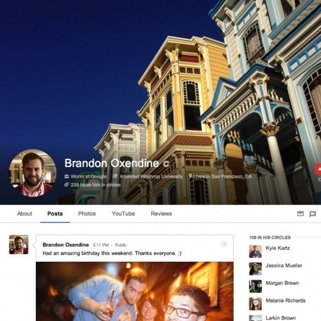 Google+ Rolls Out Major New Visual Updates | Social Media Today | Better know and better use Social Media today (facebook, twitter...) | Scoop.it