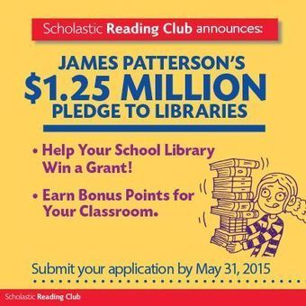 5 Questions with James Patterson as he partners with Scholastic to help save school libraries! | On Our Minds | The Slothful Cybrarian | Scoop.it