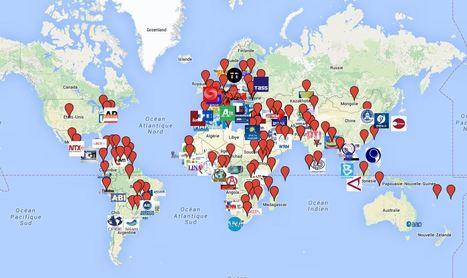 Mapa das Agências de Notícias | News Agencies | Scoop.it
