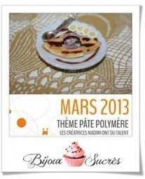 Calendrier de Mars 2013 | Bijoux sucrés, Bijoux fantaisie, Bijoux gourmands, Pâte Fimo, Nail Art et Miniatures gourmandes | Bijoux Sucrés | Scoop.it