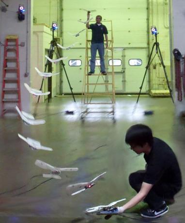 Flapping Robotic Birdplane Lands Right on Your Hand - IEEE Spectrum | Outbreaks of Futurity | Scoop.it