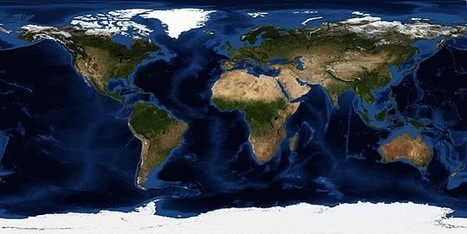 10 vivid maps of Earth: Matter of perspective | Mr. Soto's Human Geography | Scoop.it