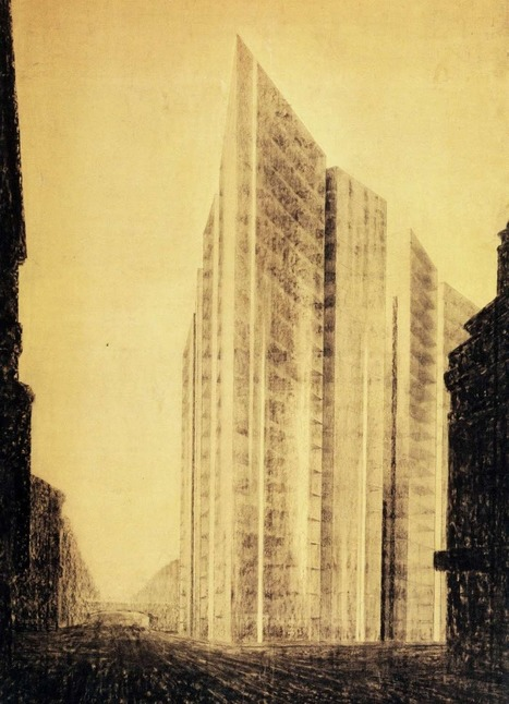 The COLLAGES And DRAWINGS Of Ludwig Mies van der Rohe | The Architecture of the City | Scoop.it