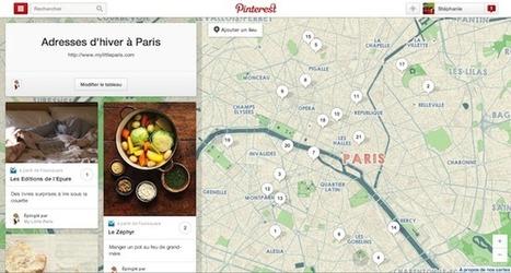 Exclusif: Pinterest se lance aujourd'hui dans la géolocalisation, les explications de Stéphanie Tramicheck | E-marketing et les réseaux sociaux | Scoop.it
