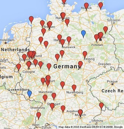 University map: lectures opening for refugees | Ankommen. | Scoop.it