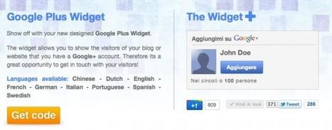 GoogleCards – plugin para WordPress para mostrar acceso a perfil en Google+ | Aplicaciones y Herramientas . Software de Diseño | Scoop.it