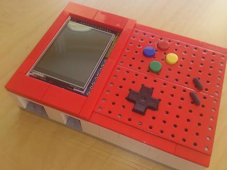 [RASPBERRY-PI] Réaliser une Console Portable avec une Framboise et des Legos | Open-Consoles | [OH]-NEWS | Scoop.it