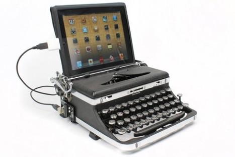 [Gadget de la semaine] L'USB Typewriter, la machine à écrire 2.0 pour vos PC, Mac et tablettes | Tablettes tactiles et usage professionnel | Scoop.it