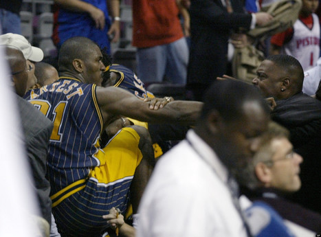 Pistons-Pacers Brawl: Where Are They Now? | Sports Facility Management | Scoop.it