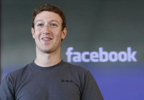 Facebook : Mark Zuckerberg estime que le réseau... | Réseaux sociaux | Scoop.it