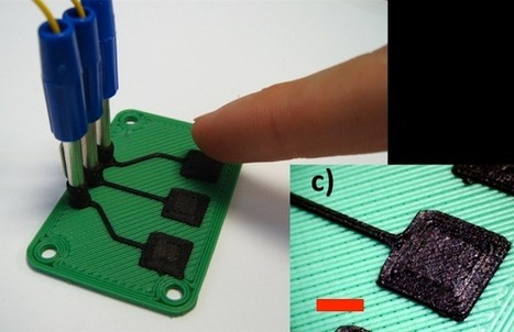 33rd Square   3D Printing Of Electronic Sensors Now Possible With Carbomorph Material   SynBioFromLeukipposInstitute   Scoop.it