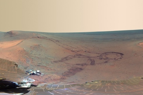 Vehículo explorador envía voz humana y vista panorámica desde Marte | Educar con las nuevas tecnologías | Scoop.it