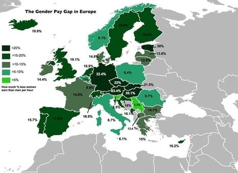 Inégalités de salaire hommes-femmes. | CRAKKS | Scoop.it