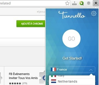 Tunnello – Un VPN gratuit pour le navigateur Chrome | Au fil du Web | Scoop.it