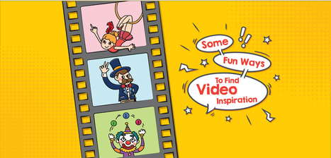 Some Fun Ways to Find Video inspiration - PitchWorx | Presentation Design Services and Character Animation Video | Scoop.it