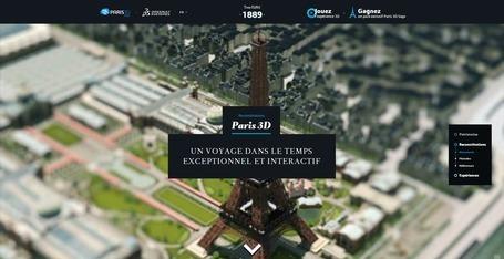 Paris 3D - Un voyage dans le temps exceptionnel et interactif | Social and digital network | Scoop.it