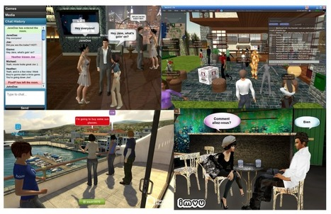 The Evolution of Virtual Worlds, Part Two. Social Virtual Reality.   A Virtual Worlds Miscellany   Scoop.it
