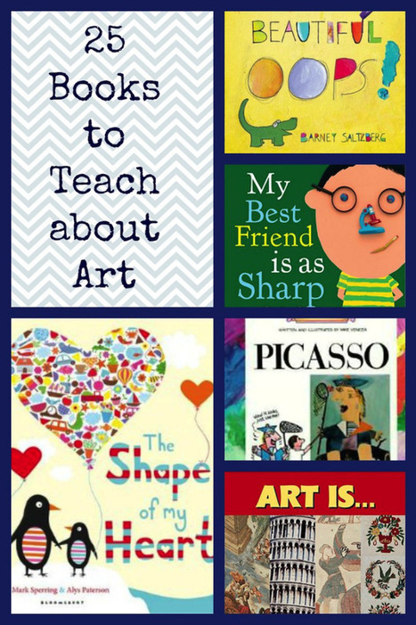 25 Amazing Books for Teaching about Art - | Curriculum resource reviews | Scoop.it