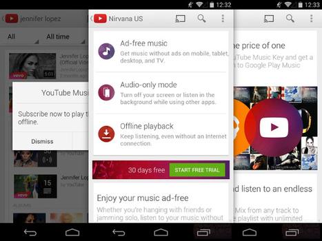 Music Key : tous les détails du prochain service de streaming musical de YouTube   Geeks   Scoop.it