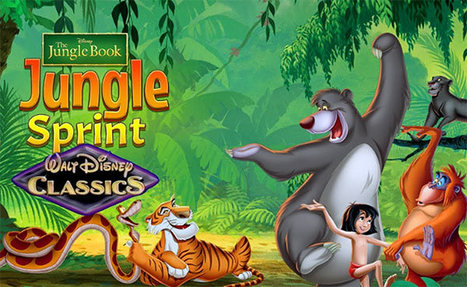 Jungle Book: Jungle Sprint Game - Chip Games | ChipGames.net - Free Online Games | Scoop.it