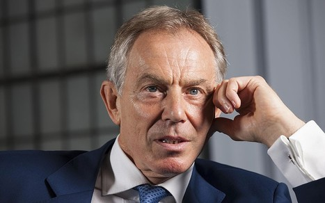 Tony Blair 'deeply worried' Britain will leave EU via referendum - Telegraph | Psycholitics & Psychonomics | Scoop.it