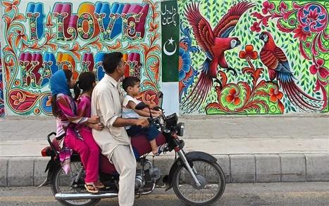 Fighting street crime with street art in Karachi - Star2.com   World of Street & Outdoor Arts   Scoop.it