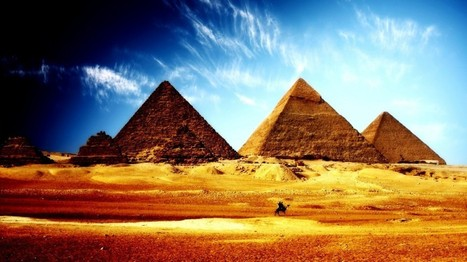 Egyptian pyramids from inside   Technology   Scoop.it