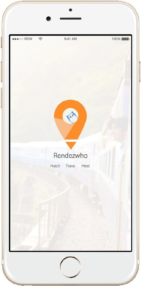 Find One Person In The World w/ Cool App Startup Rendezwho - We're In | Startup Revolution | Scoop.it