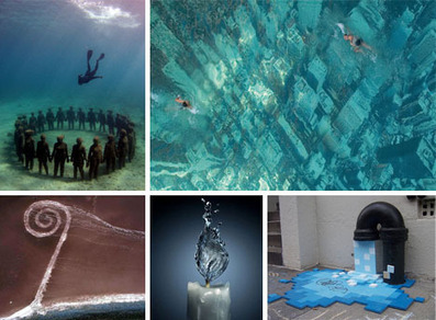 42 Wonderful Works of Water, Snow and Ice Art | WebEcoist | Integrated Learning in Art and Science | Scoop.it
