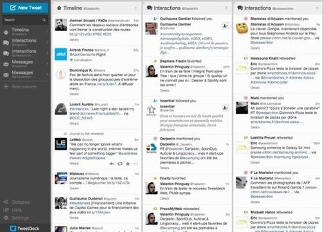 Le nouveau Tweetdeck arrive sur Chrome & le Web | MEDIATOOLS | Scoop.it