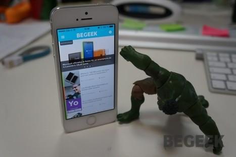 L'application Begeek.fr est enfin disponible (iOS et Android) | TIC et TICE mais... en français | Scoop.it