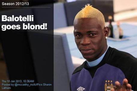 Balotelli tutto biondo: nuovo look, nuova squadra GUARDA IL VIDEO | Calcio e Calciomercato | Scoop.it