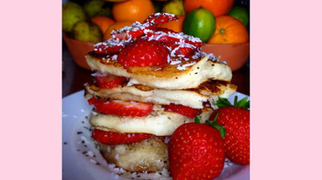 RECIPE: Delicious Bank Holiday strawberry and coconut pancakes | My Vegan recipes | Scoop.it