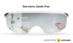 Augmented reality glasses powered by Wikitude - Wikitude | AR | Scoop.it